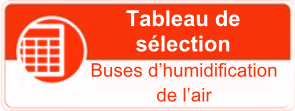 Buses d'humidification de l'air